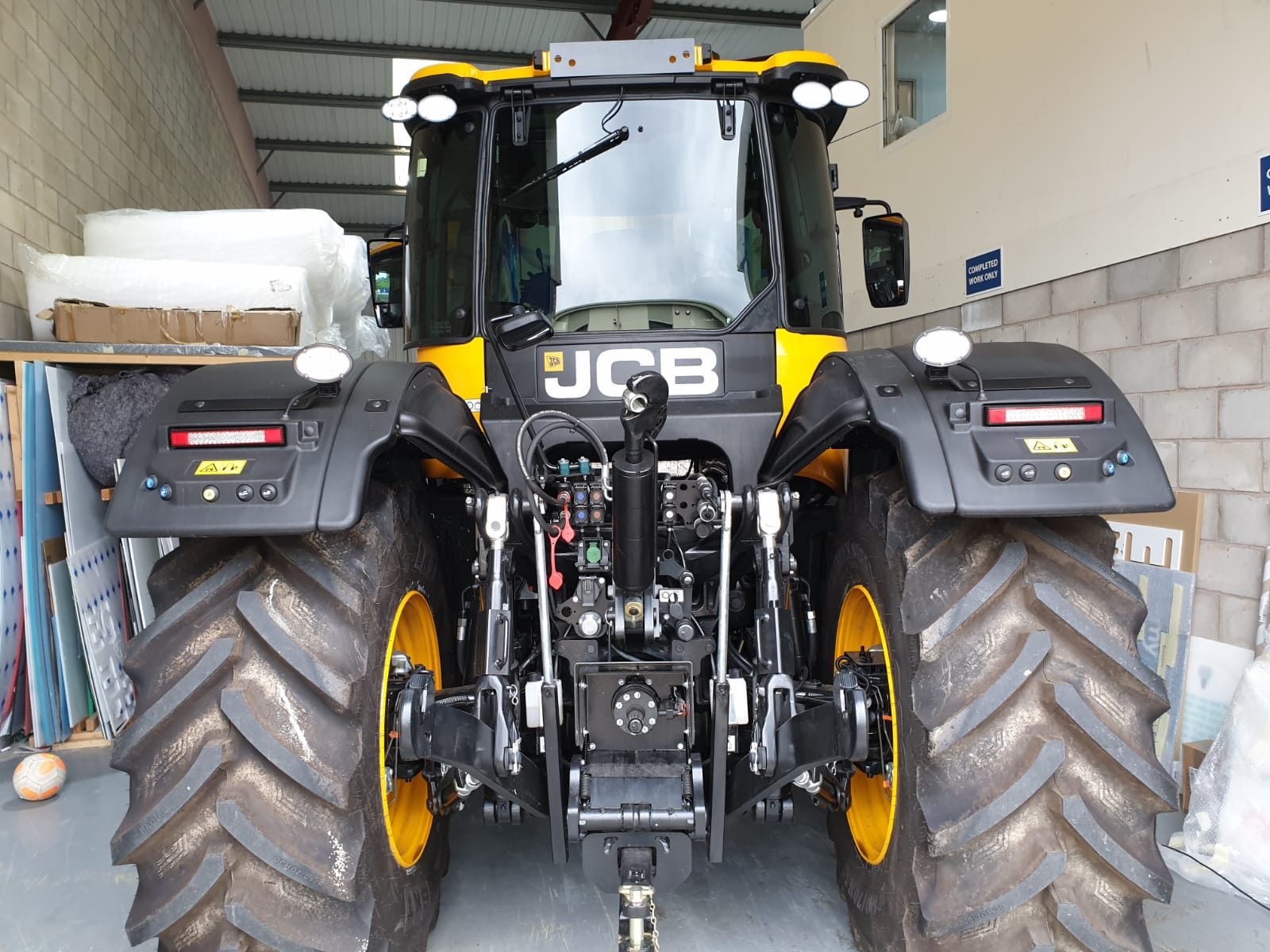 tractor wrapping vehicle wrap