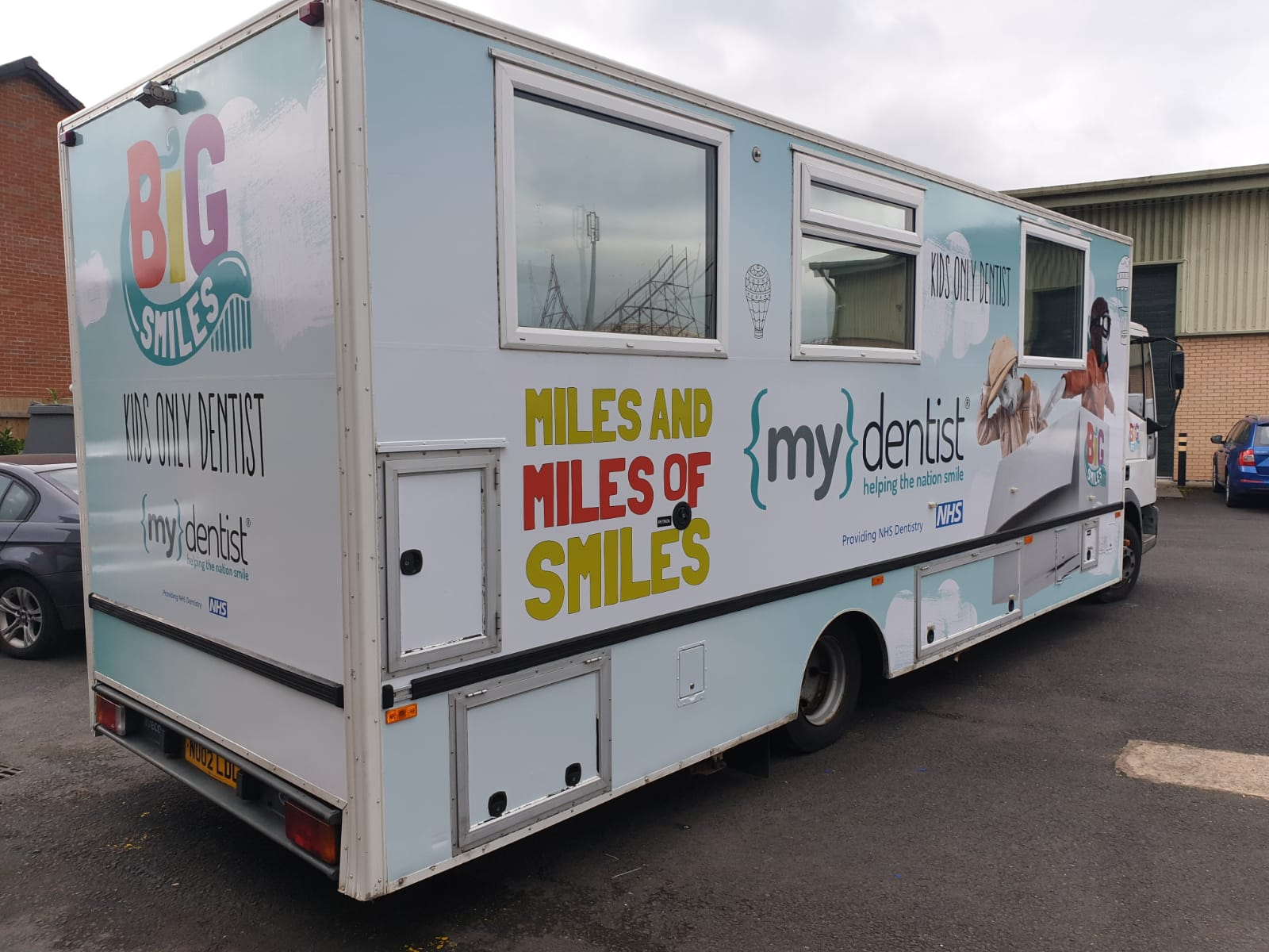 vehicle wrap My Dentist - Vehicle Wrapping | Principle Signs & Graphics