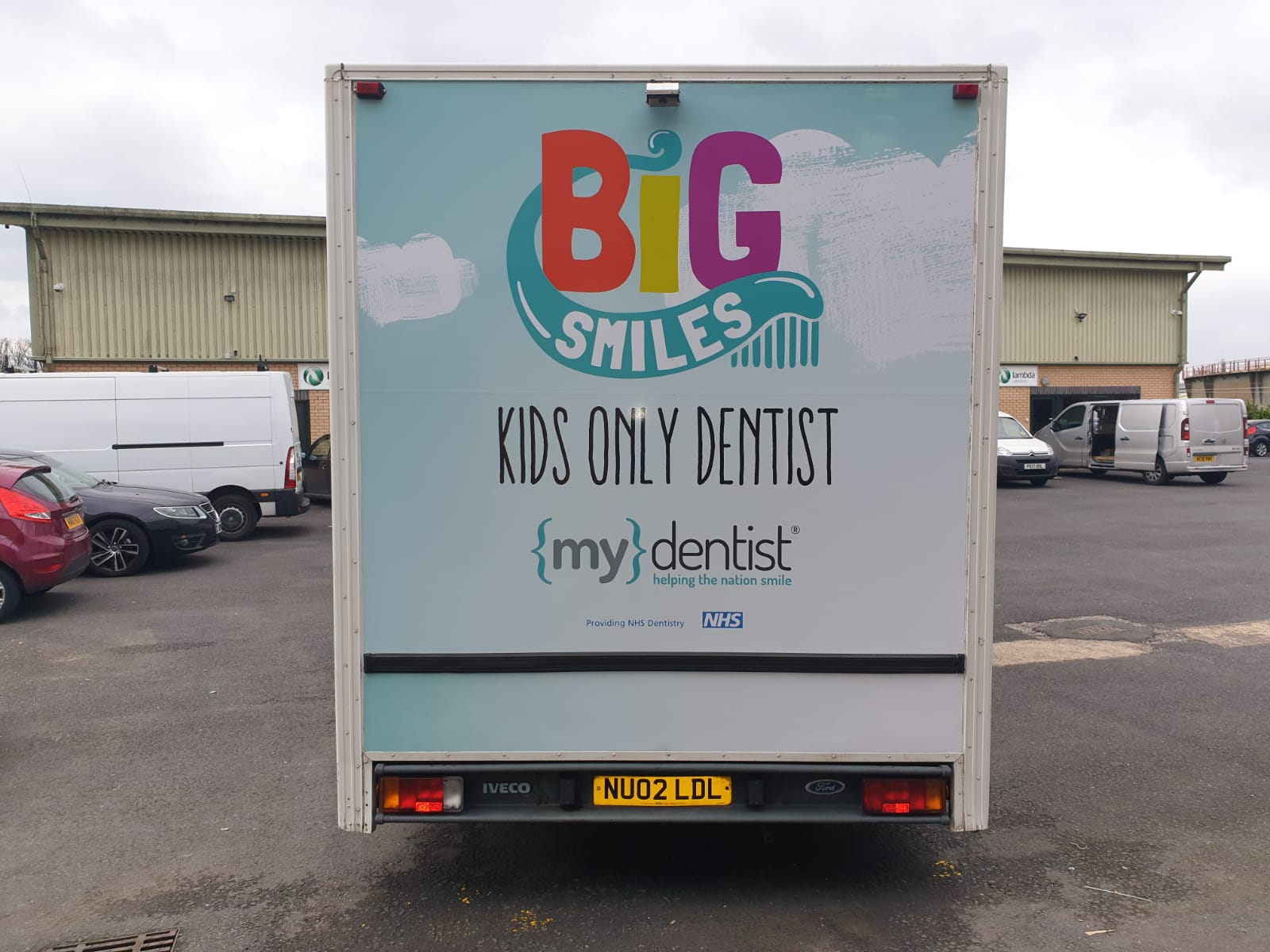 van wrapping graphics and sign writer lancashire