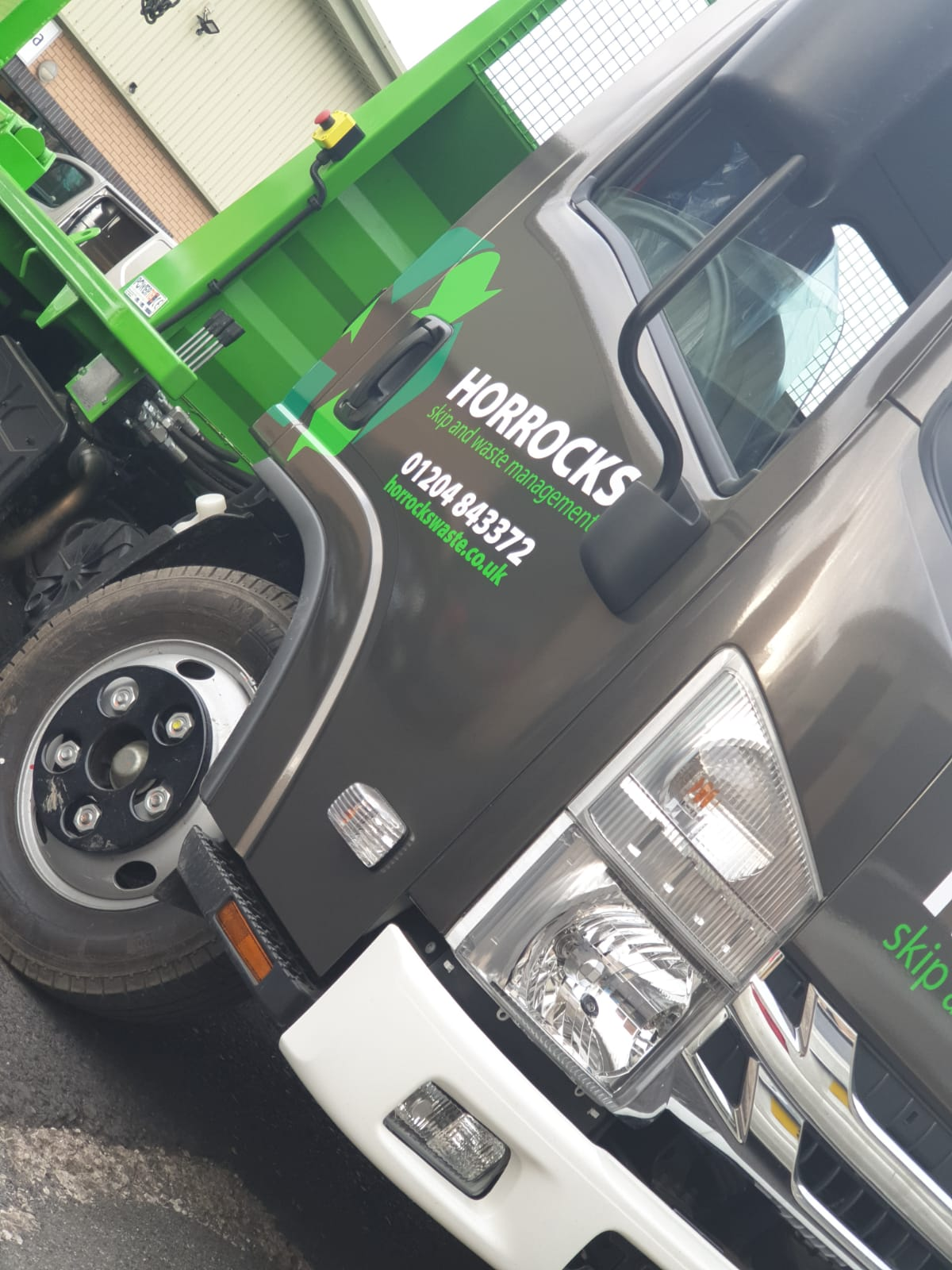 truck wrap livery wrapping