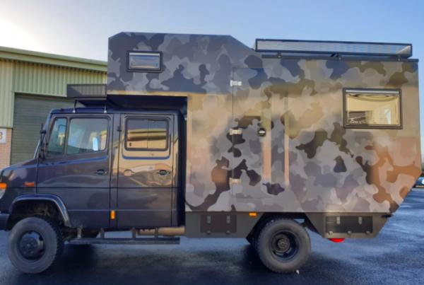 camouflage van wrap