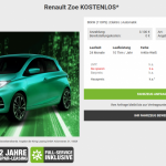 Gratis elektrische auto's leasen? In Duitsland kan het