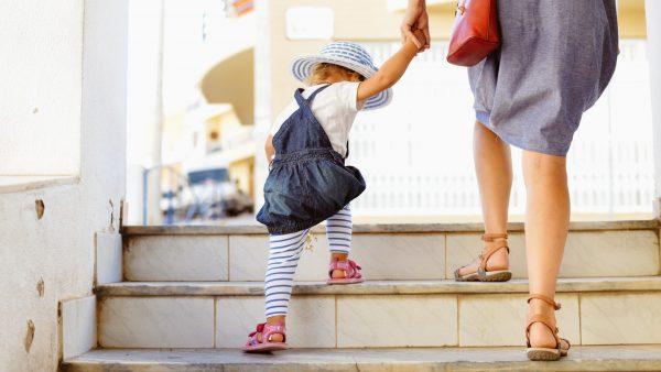 Gå i trappor är bra vardagsträning