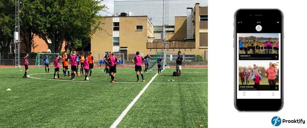 Proaktify och Limhamn FC