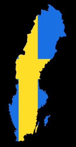 Sverige flagga_353x677