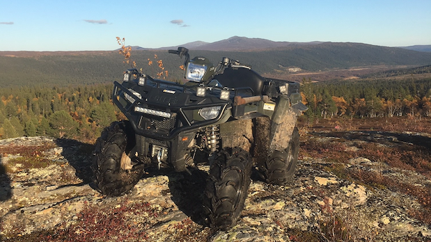 Polaris ATV, ProEngine Funäsdalen