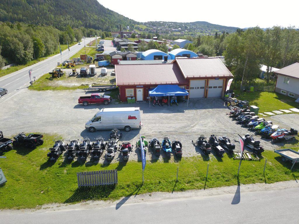 Verkstad skoter ATV ProEngine Funäsdalen