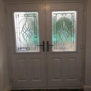 White Composite Doors