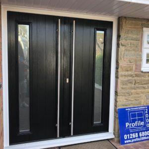 Black Composite Doors