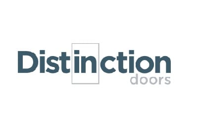 Logo for Distinction Doors