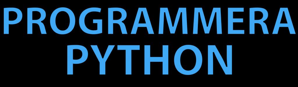 Lär dig programmera i Python på programmerapython.se