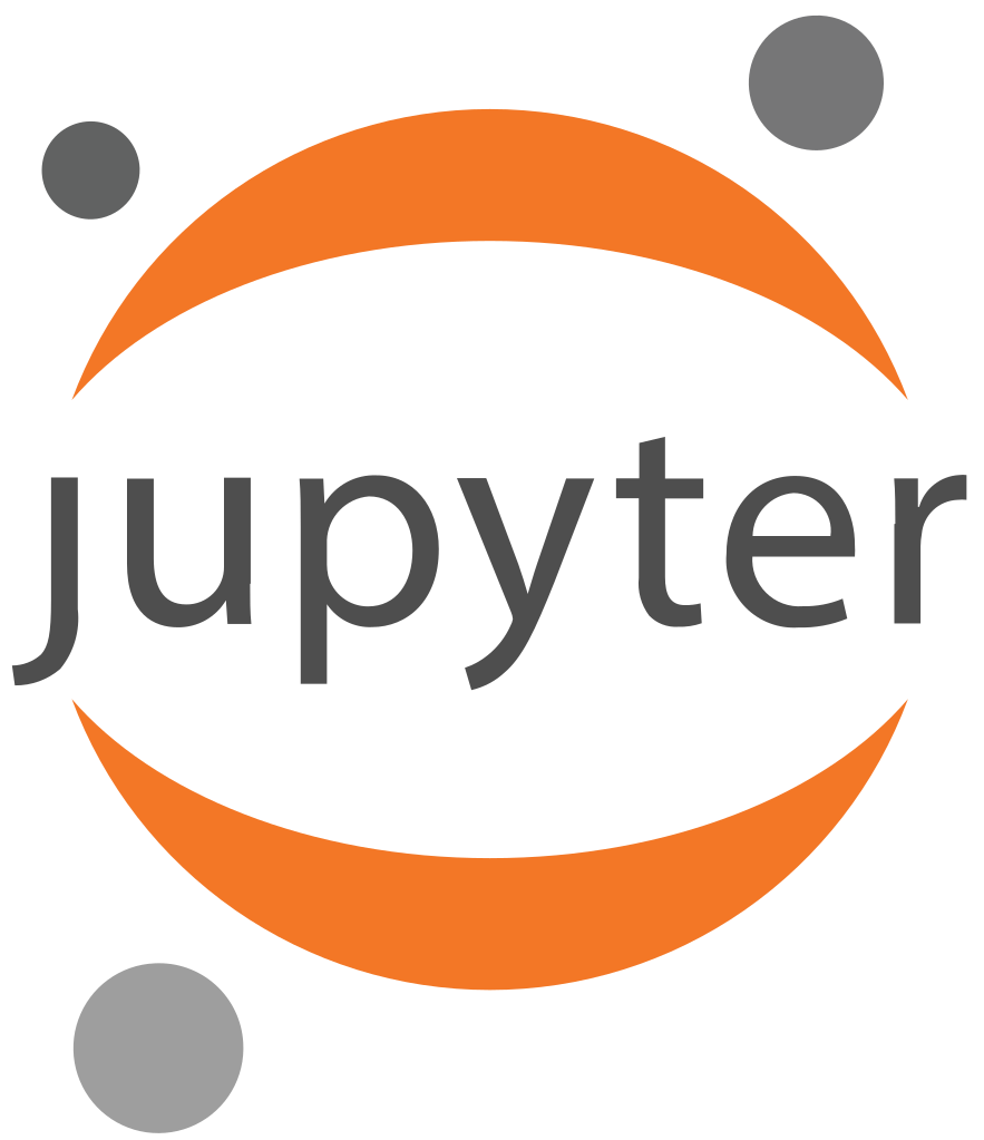Jupyter notebook logo Python