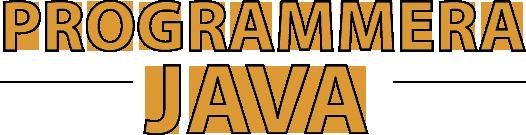 Lär dig programmera Java:  Programmering i Java är roligt att lära sig