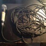 Microfoon met kabel