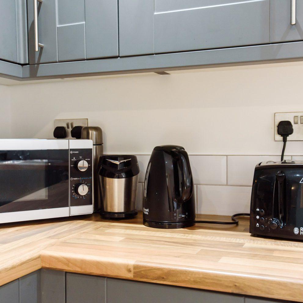caerau gardens microwave and toaster