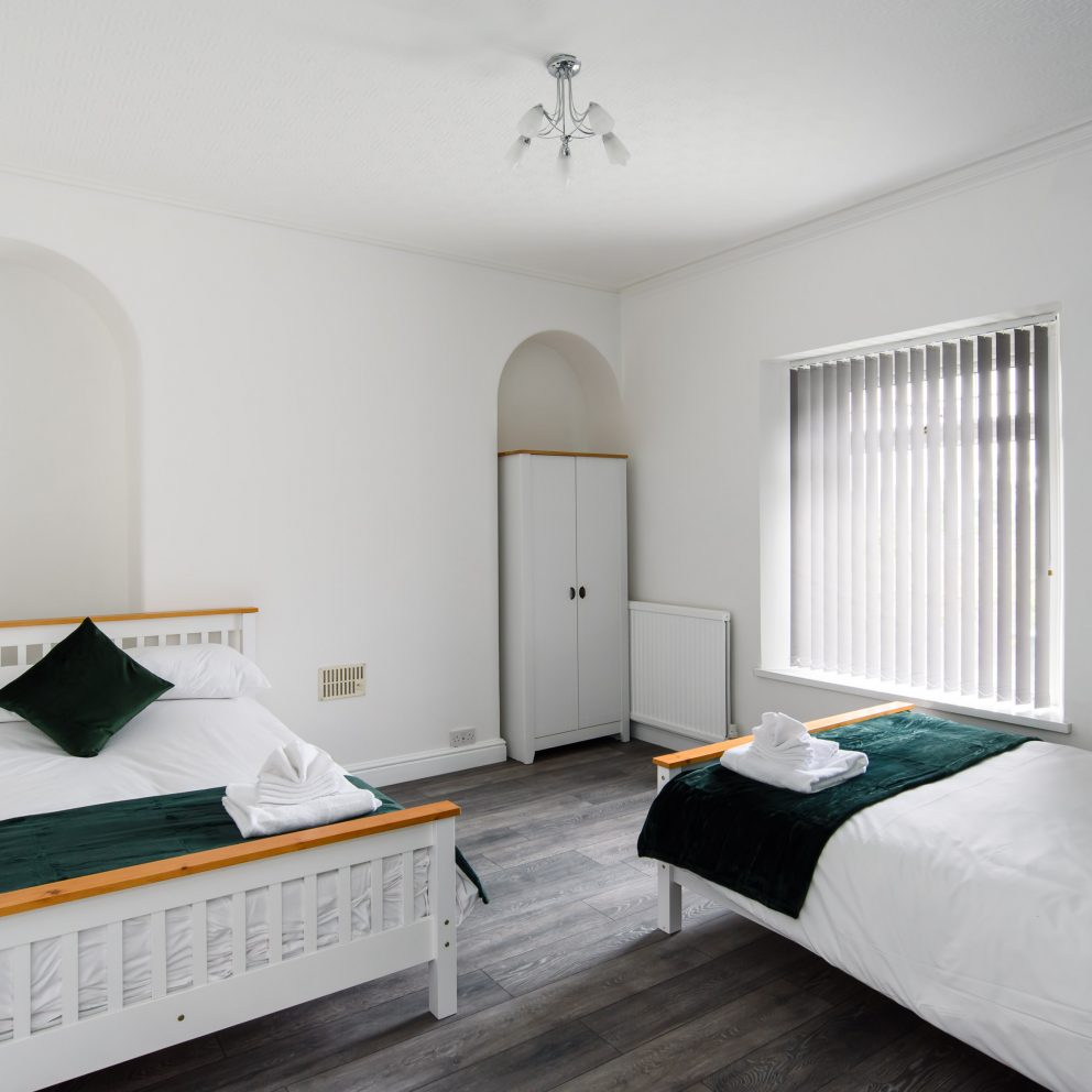 Clarence Heights twin bedroom 2
