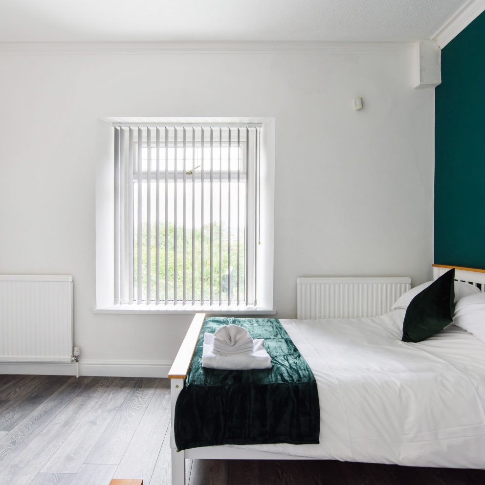 Clarence Heights double bedroom