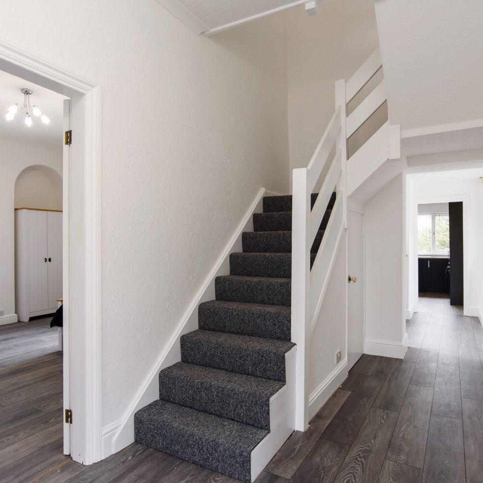 Clarence Heights hallway