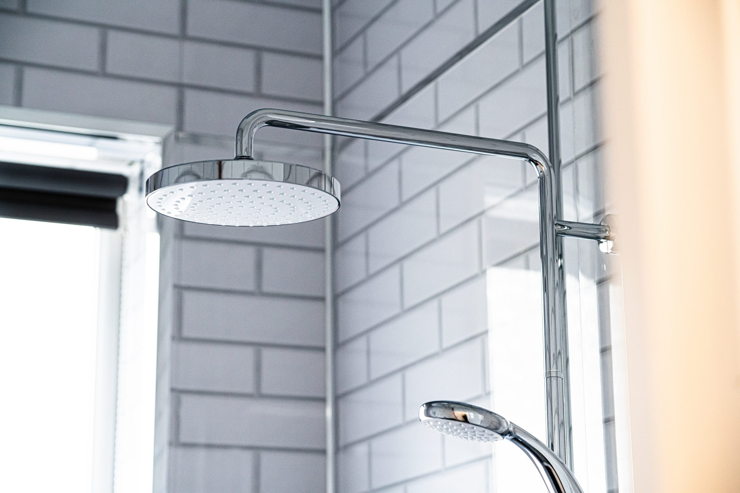 Caerau Heights shower head