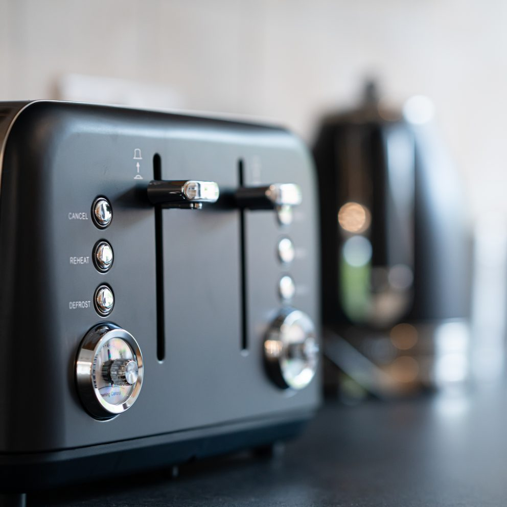 Clarence Retreat toaster