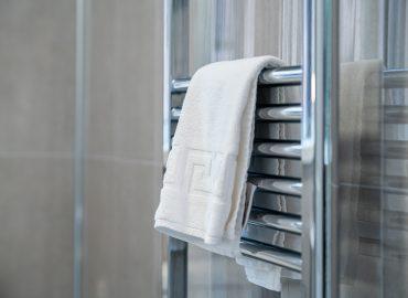 Clarence Retreat bathroom towel