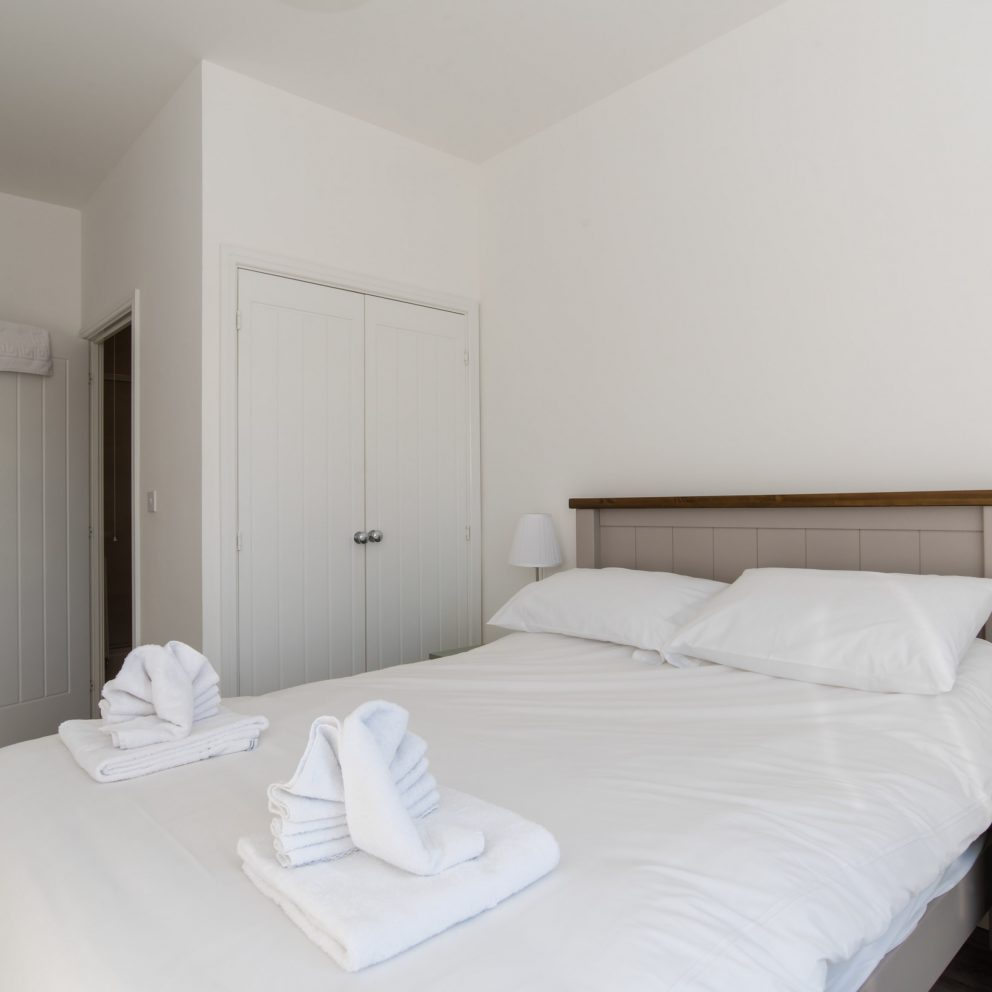 Raphael Heights bedroom with cupboard