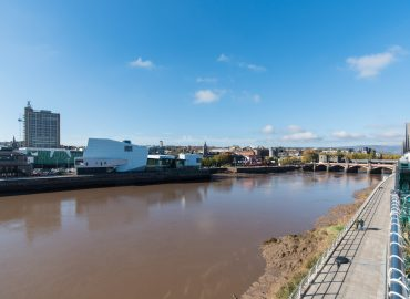 Raphael Heights view of river usk