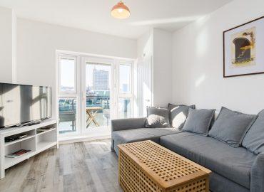 Raphael Heights living room