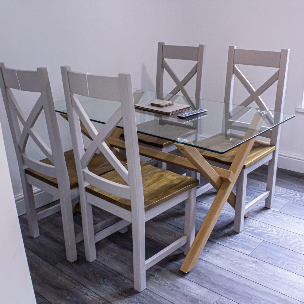 Caerau Heights dining room