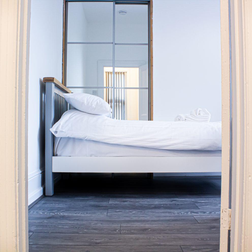 Caerau Heights bedroom view