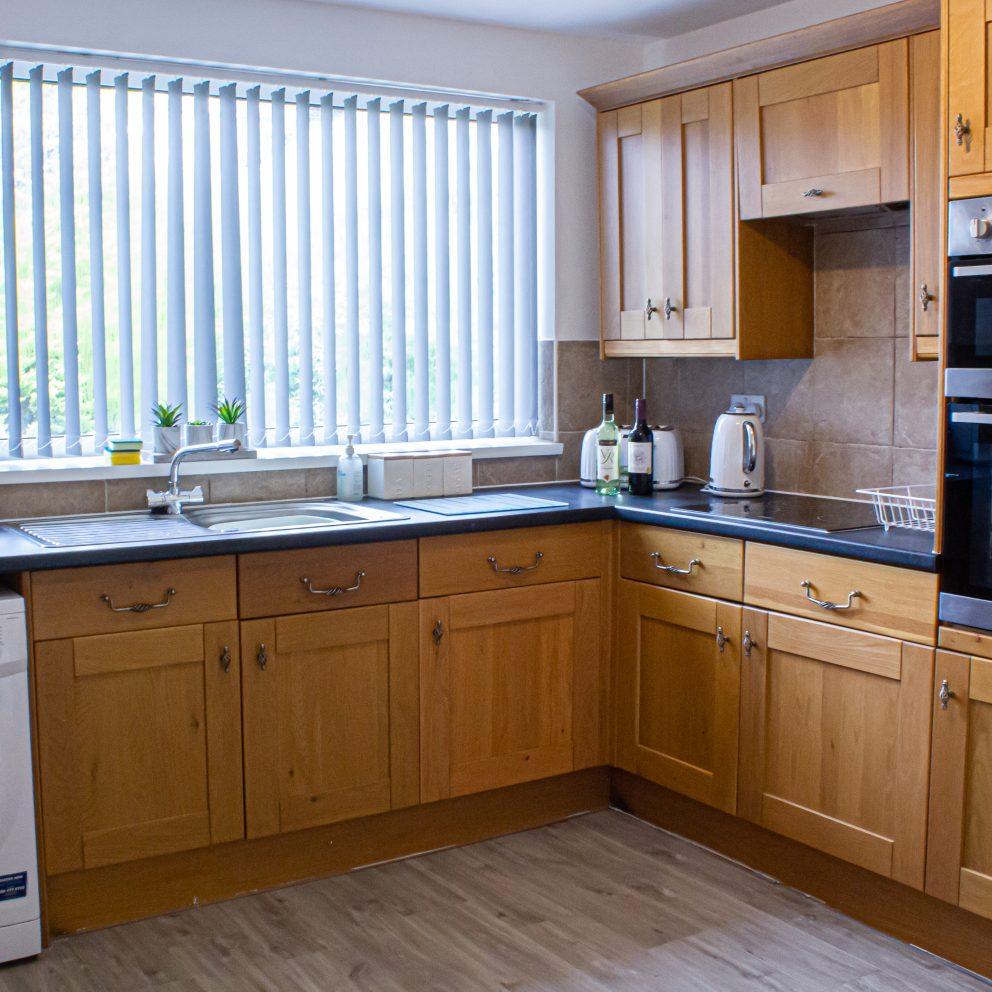 Clarence Lodge kitchen