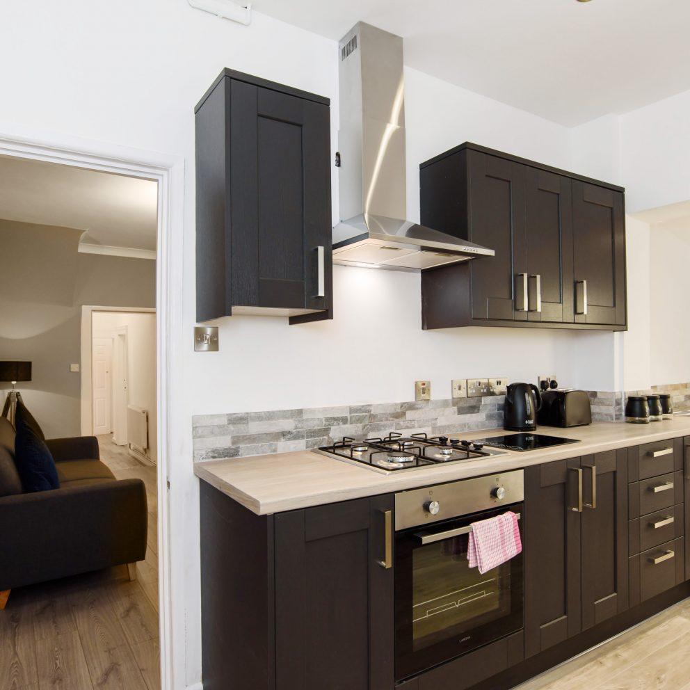 Handpost retreat kitchen