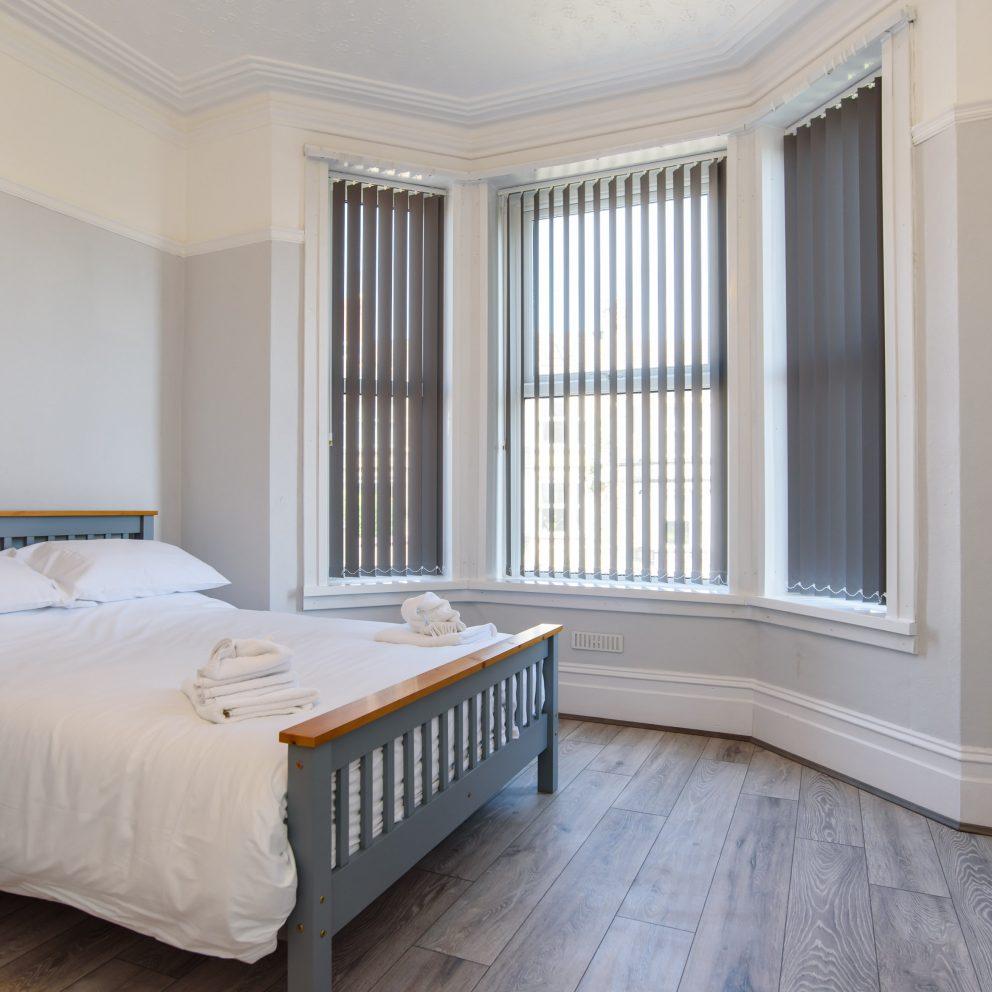 Handpost retreat bedroom view