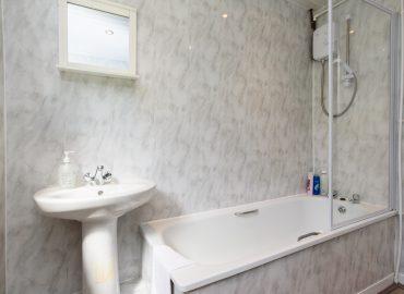 Handpost retreat bathroom