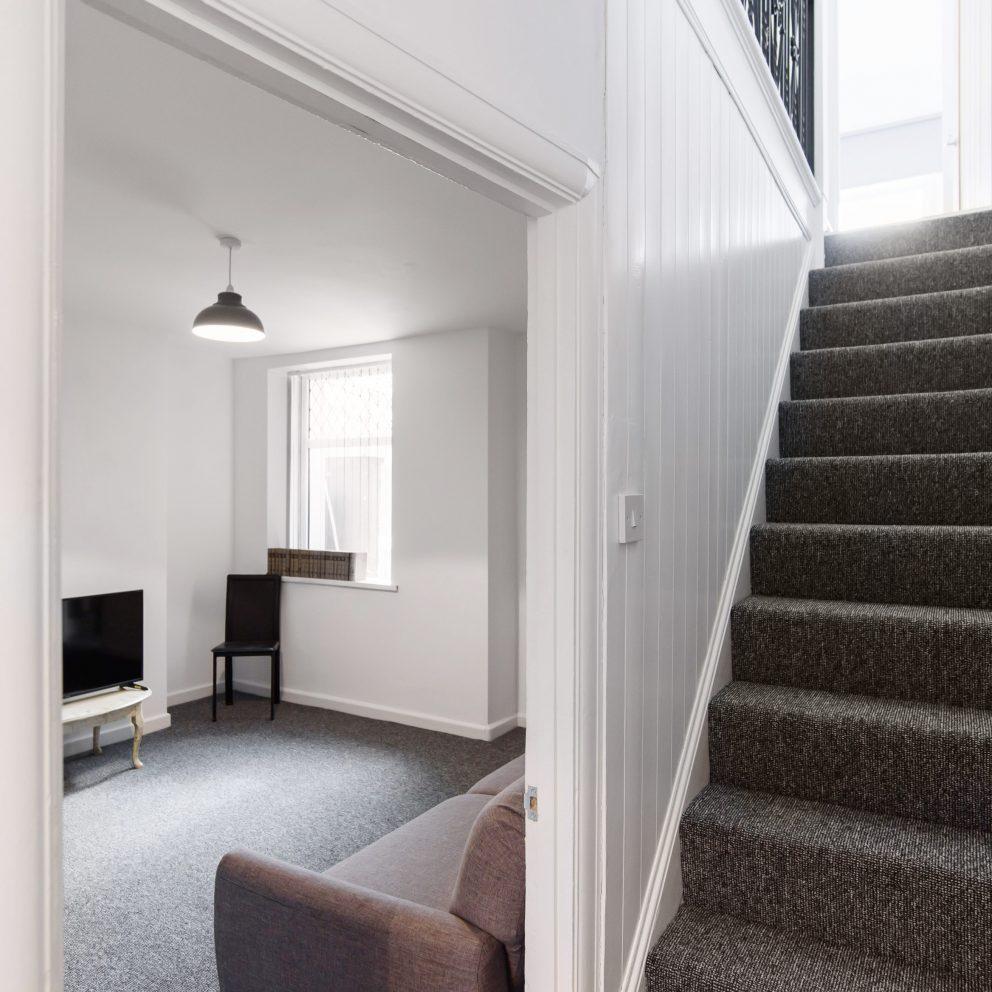 Hengoed House stairway