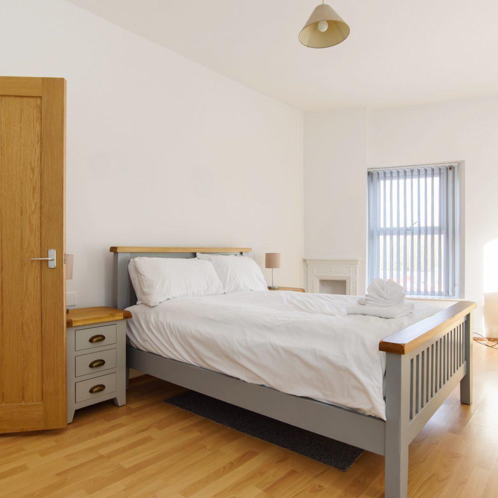 Locke House bedroom