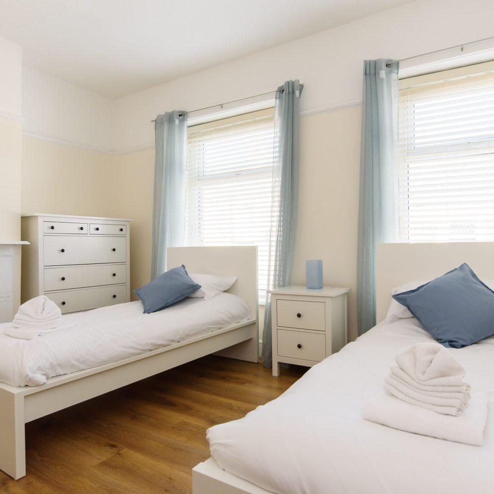 Lucas house twin bedroom