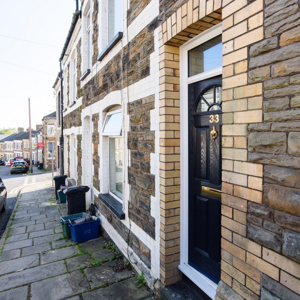 Lucas house front door