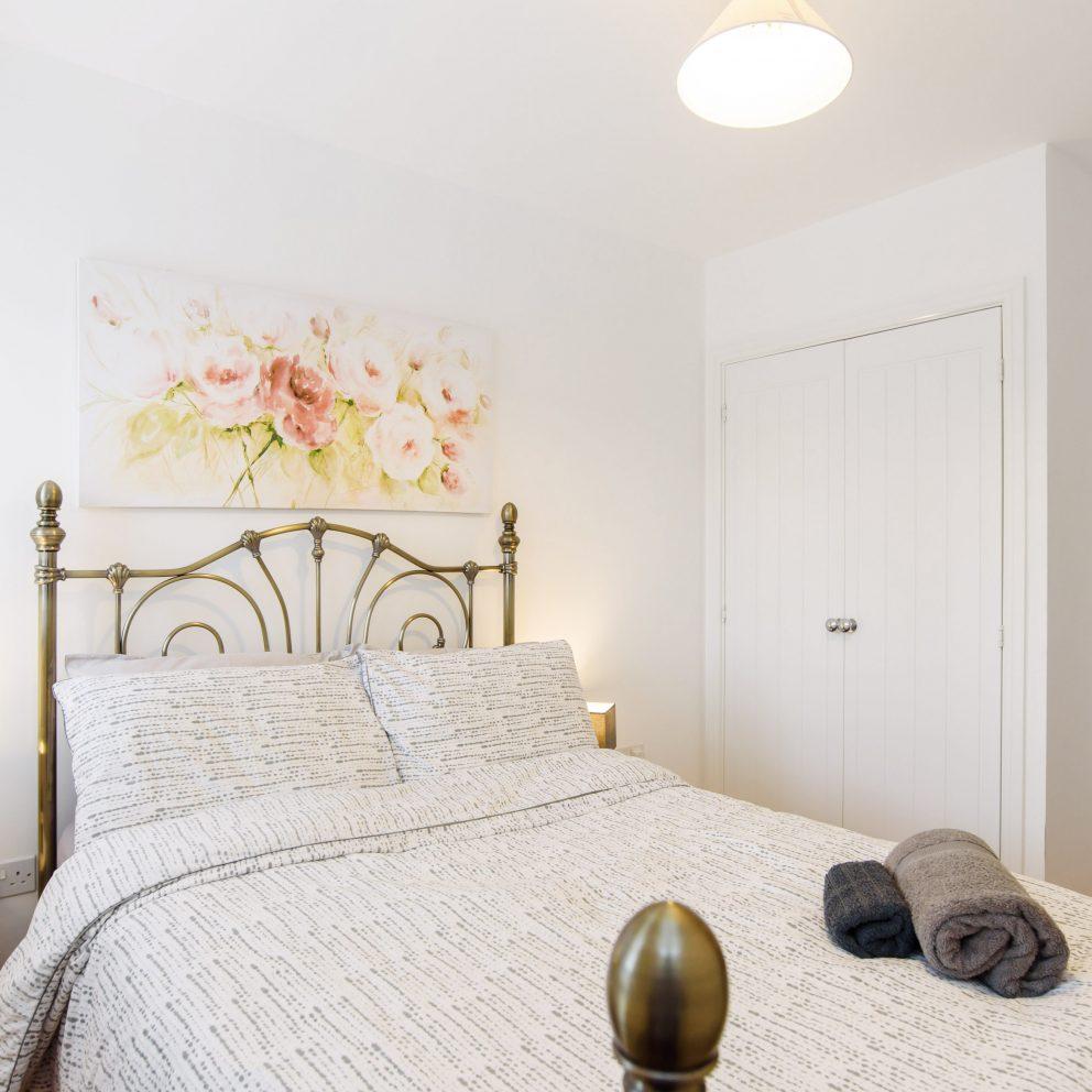 Magenta River bedroom