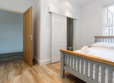 Handpost heights bedroom and hallway