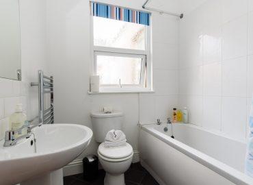 Handpost view bathroom