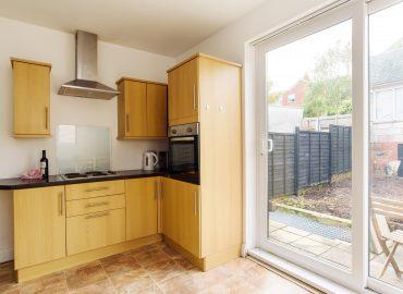 Handpost view kitchen