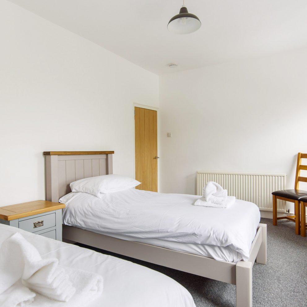 Railway Cottage twin bedroom