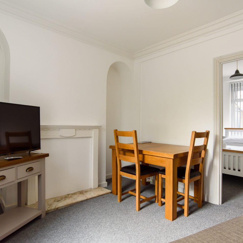 Railway Cottage dining room