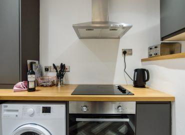 Railway Cottage kitchen oven