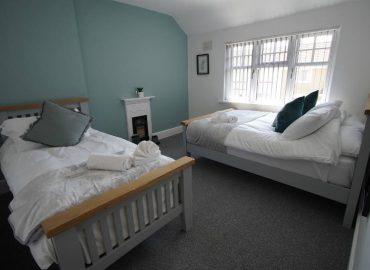 Risca retreat bedroom