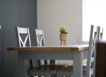Risca retreat dining room