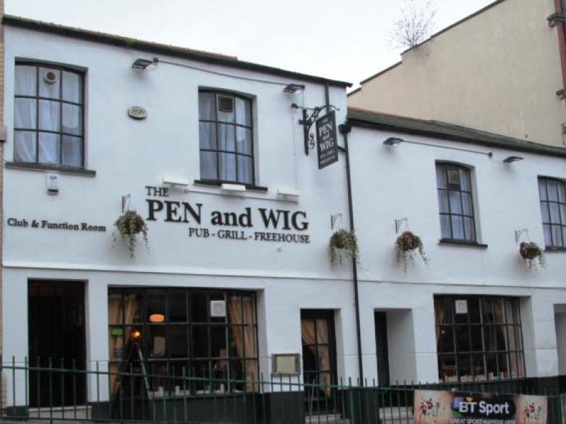 Pen & Wig in Newport