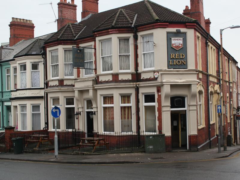 The Red Lion in Caerleon