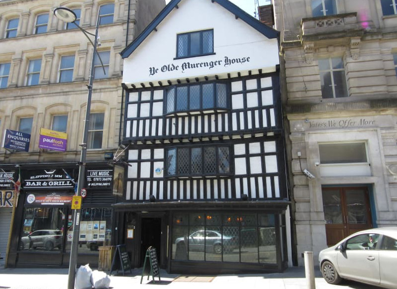 Ye Olde Murenger House in Newport